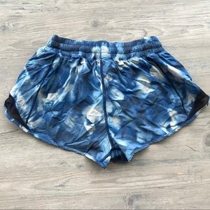 Lululemon Hotty Hot Shorts Blush Blossom Alpine